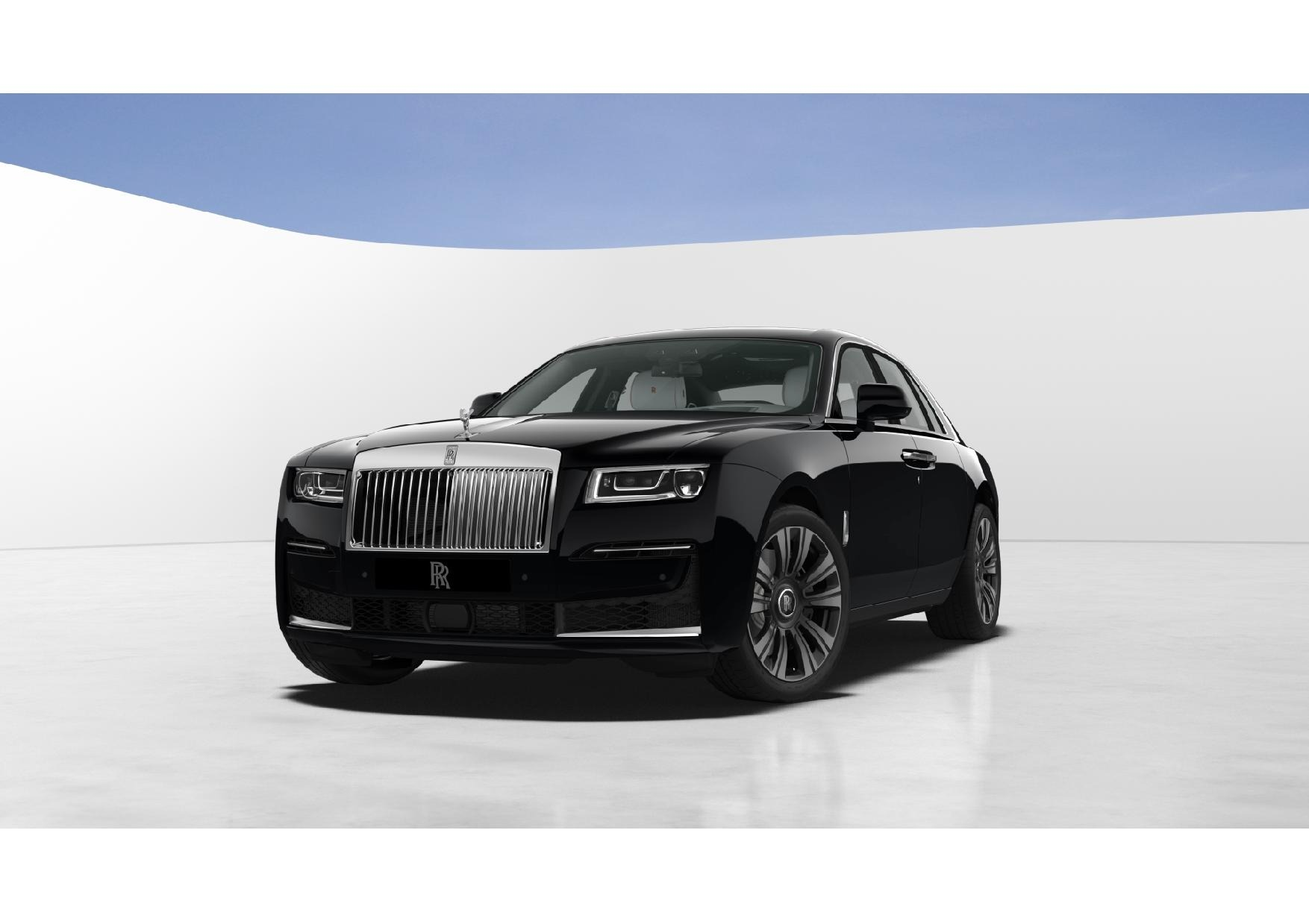 New 2021 Rolls-Royce Ghost for sale $378,350 at Bugatti of Greenwich in Greenwich CT 06830 1