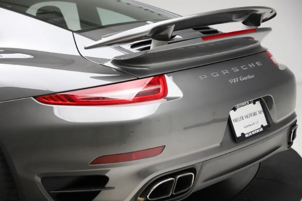 Used 2015 Porsche 911 Turbo for sale Call for price at Bugatti of Greenwich in Greenwich CT 06830 27