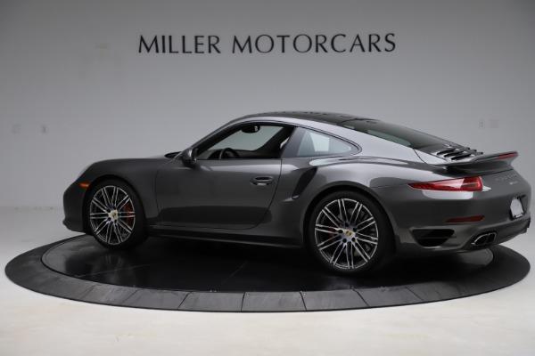 Used 2015 Porsche 911 Turbo for sale Call for price at Bugatti of Greenwich in Greenwich CT 06830 4