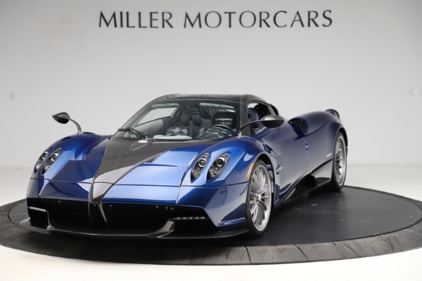 Used 2017 Pagani Huayra Roadster for sale Call for price at Bugatti of Greenwich in Greenwich CT 06830 13
