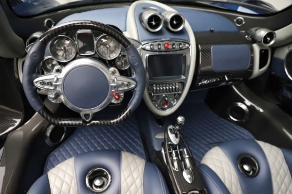 Used 2017 Pagani Huayra Roadster for sale Call for price at Bugatti of Greenwich in Greenwich CT 06830 22