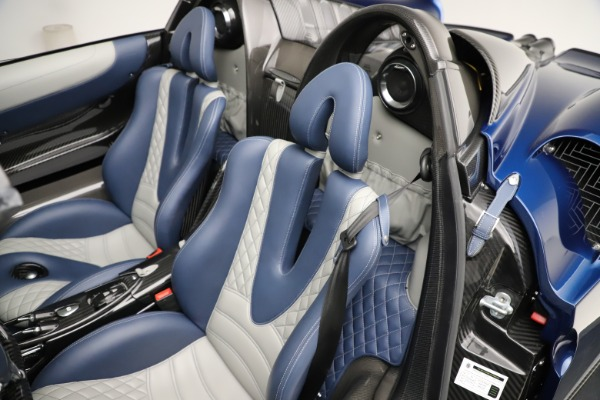 Used 2017 Pagani Huayra Roadster for sale Call for price at Bugatti of Greenwich in Greenwich CT 06830 24
