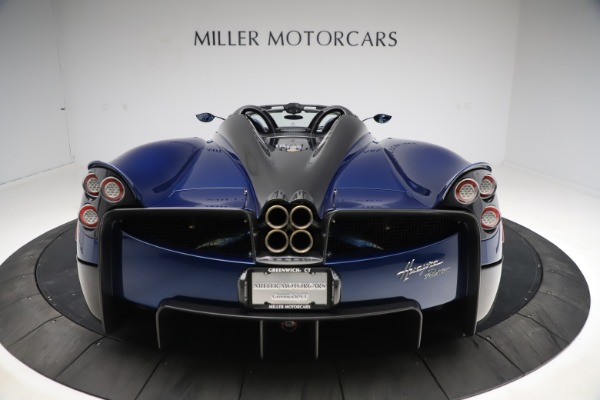 Used 2017 Pagani Huayra Roadster for sale Call for price at Bugatti of Greenwich in Greenwich CT 06830 25