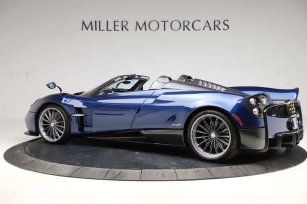 Used 2017 Pagani Huayra Roadster for sale Call for price at Bugatti of Greenwich in Greenwich CT 06830 4