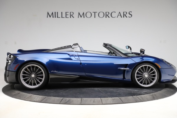 Used 2017 Pagani Huayra Roadster for sale Call for price at Bugatti of Greenwich in Greenwich CT 06830 9
