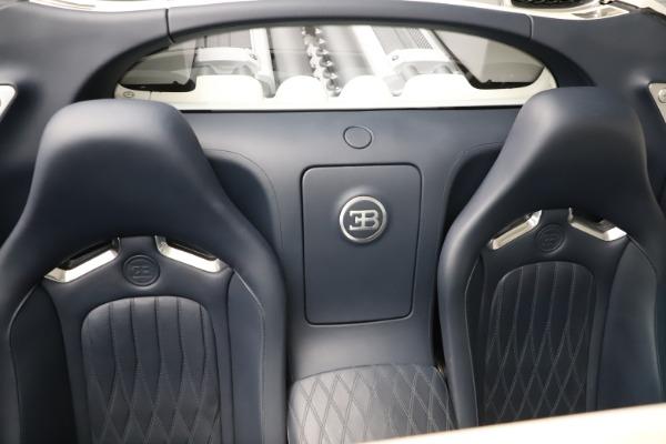 Used 2010 Bugatti Veyron 16.4 Grand Sport for sale Call for price at Bugatti of Greenwich in Greenwich CT 06830 28