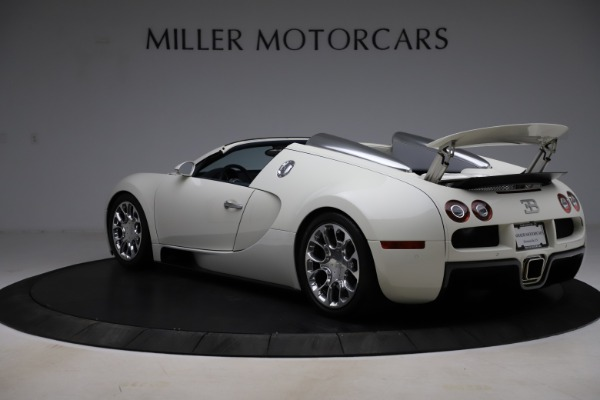 Used 2010 Bugatti Veyron 16.4 Grand Sport for sale Call for price at Bugatti of Greenwich in Greenwich CT 06830 5