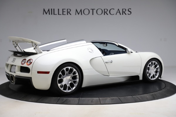 Used 2010 Bugatti Veyron 16.4 Grand Sport for sale Call for price at Bugatti of Greenwich in Greenwich CT 06830 8