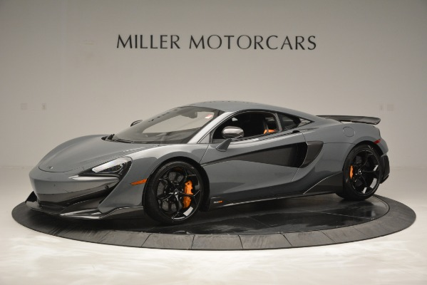 Used 2019 McLaren 600LT Luxury for sale Call for price at Bugatti of Greenwich in Greenwich CT 06830 2