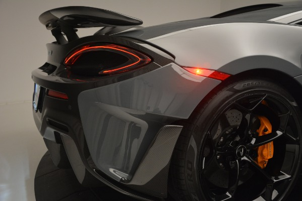Used 2019 McLaren 600LT Luxury for sale Call for price at Bugatti of Greenwich in Greenwich CT 06830 27