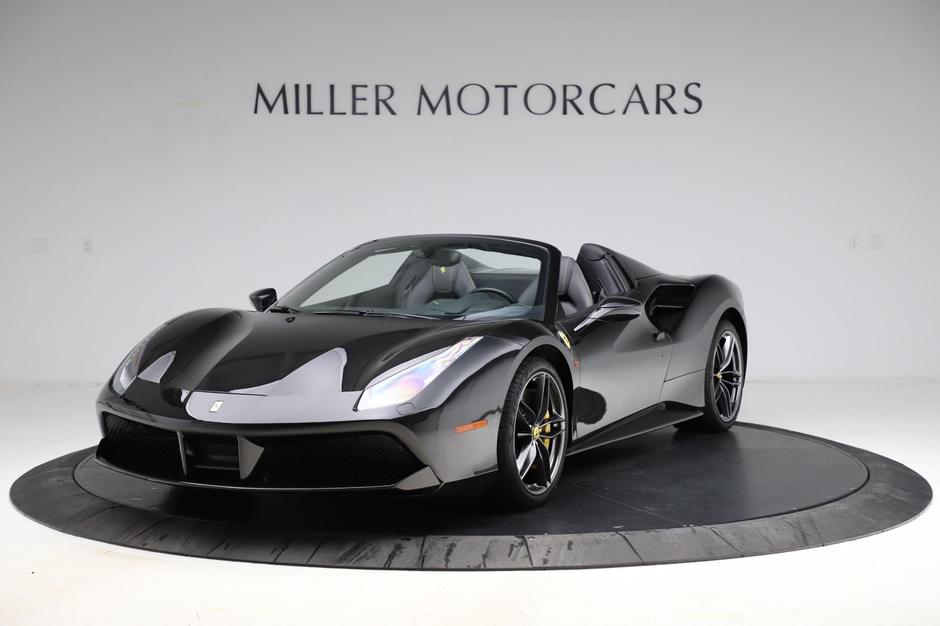 Used 2017 Ferrari 488 Spider for sale $284,900 at Bugatti of Greenwich in Greenwich CT 06830 1