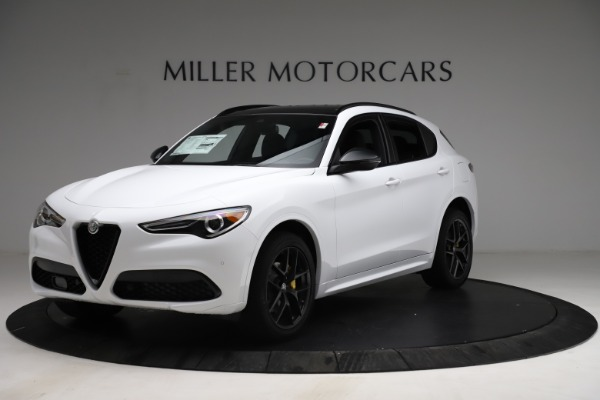 New 2021 Alfa Romeo Stelvio Ti Sport Q4 for sale $56,040 at Bugatti of Greenwich in Greenwich CT 06830 2