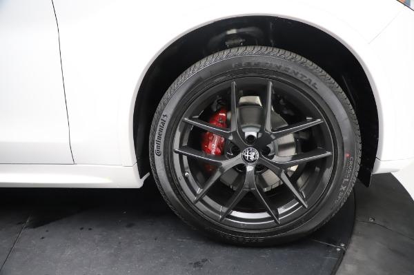 New 2021 Alfa Romeo Stelvio Ti Sport Q4 for sale Sold at Bugatti of Greenwich in Greenwich CT 06830 28