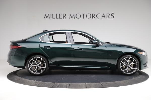 New 2021 Alfa Romeo Giulia Ti Q4 for sale $52,600 at Bugatti of Greenwich in Greenwich CT 06830 11