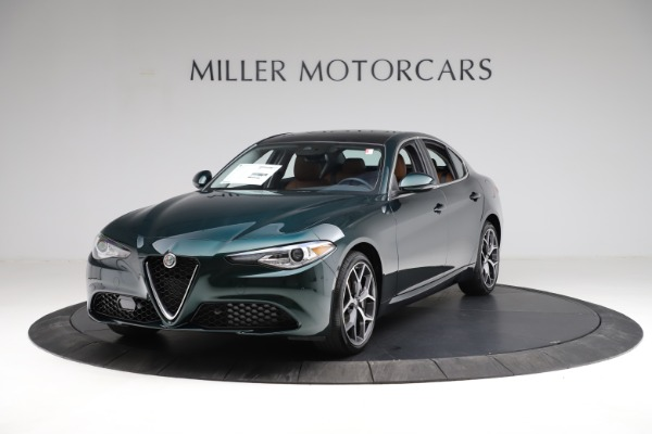 New 2021 Alfa Romeo Giulia Ti Q4 for sale $52,600 at Bugatti of Greenwich in Greenwich CT 06830 2