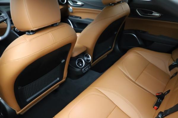 New 2021 Alfa Romeo Giulia Ti Q4 for sale $52,600 at Bugatti of Greenwich in Greenwich CT 06830 21