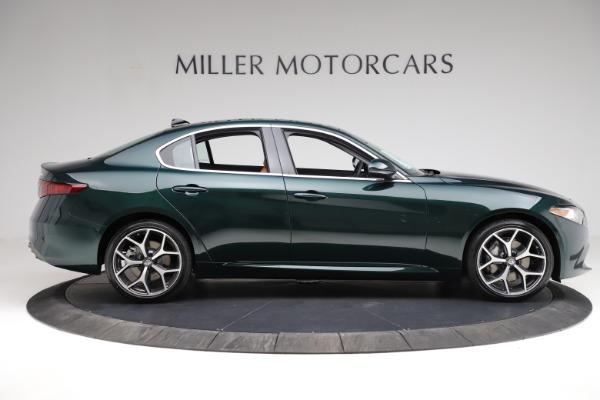 New 2021 Alfa Romeo Giulia Ti Q4 for sale $52,600 at Bugatti of Greenwich in Greenwich CT 06830 9