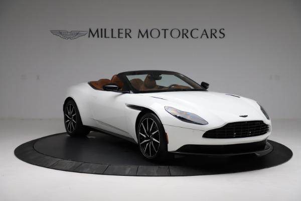 New 2021 Aston Martin DB11 Volante for sale $272,686 at Bugatti of Greenwich in Greenwich CT 06830 10