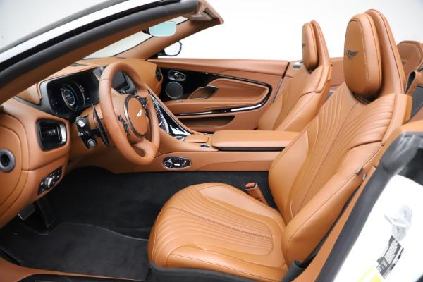 New 2021 Aston Martin DB11 Volante for sale $272,686 at Bugatti of Greenwich in Greenwich CT 06830 18