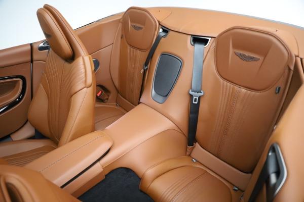 New 2021 Aston Martin DB11 Volante for sale $272,686 at Bugatti of Greenwich in Greenwich CT 06830 21