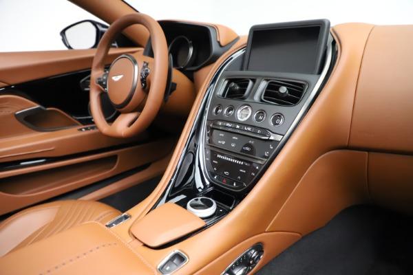 New 2021 Aston Martin DB11 Volante for sale $272,686 at Bugatti of Greenwich in Greenwich CT 06830 23