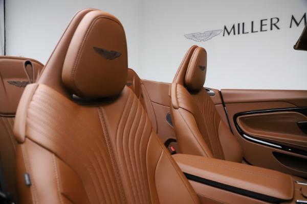 New 2021 Aston Martin DB11 Volante for sale $272,686 at Bugatti of Greenwich in Greenwich CT 06830 24