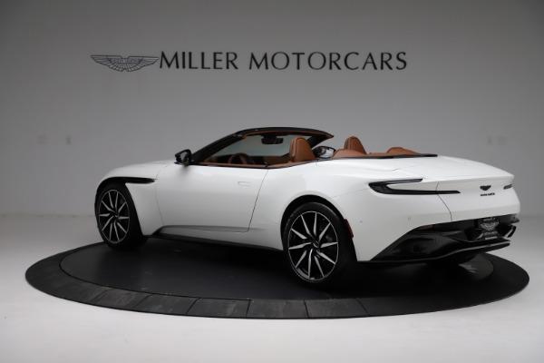 New 2021 Aston Martin DB11 Volante for sale $272,686 at Bugatti of Greenwich in Greenwich CT 06830 3