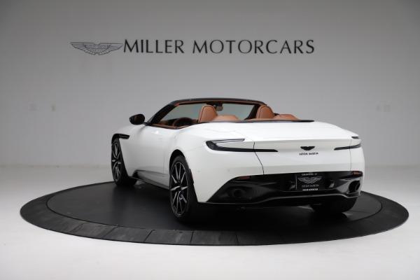 New 2021 Aston Martin DB11 Volante for sale $272,686 at Bugatti of Greenwich in Greenwich CT 06830 4