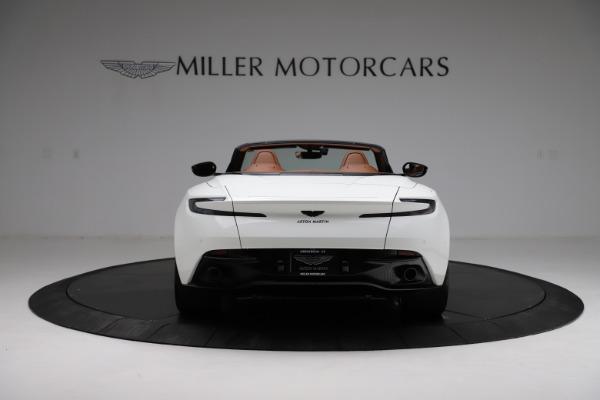 New 2021 Aston Martin DB11 Volante for sale $272,686 at Bugatti of Greenwich in Greenwich CT 06830 5
