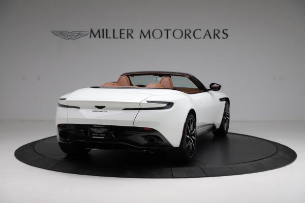 New 2021 Aston Martin DB11 Volante for sale $272,686 at Bugatti of Greenwich in Greenwich CT 06830 6