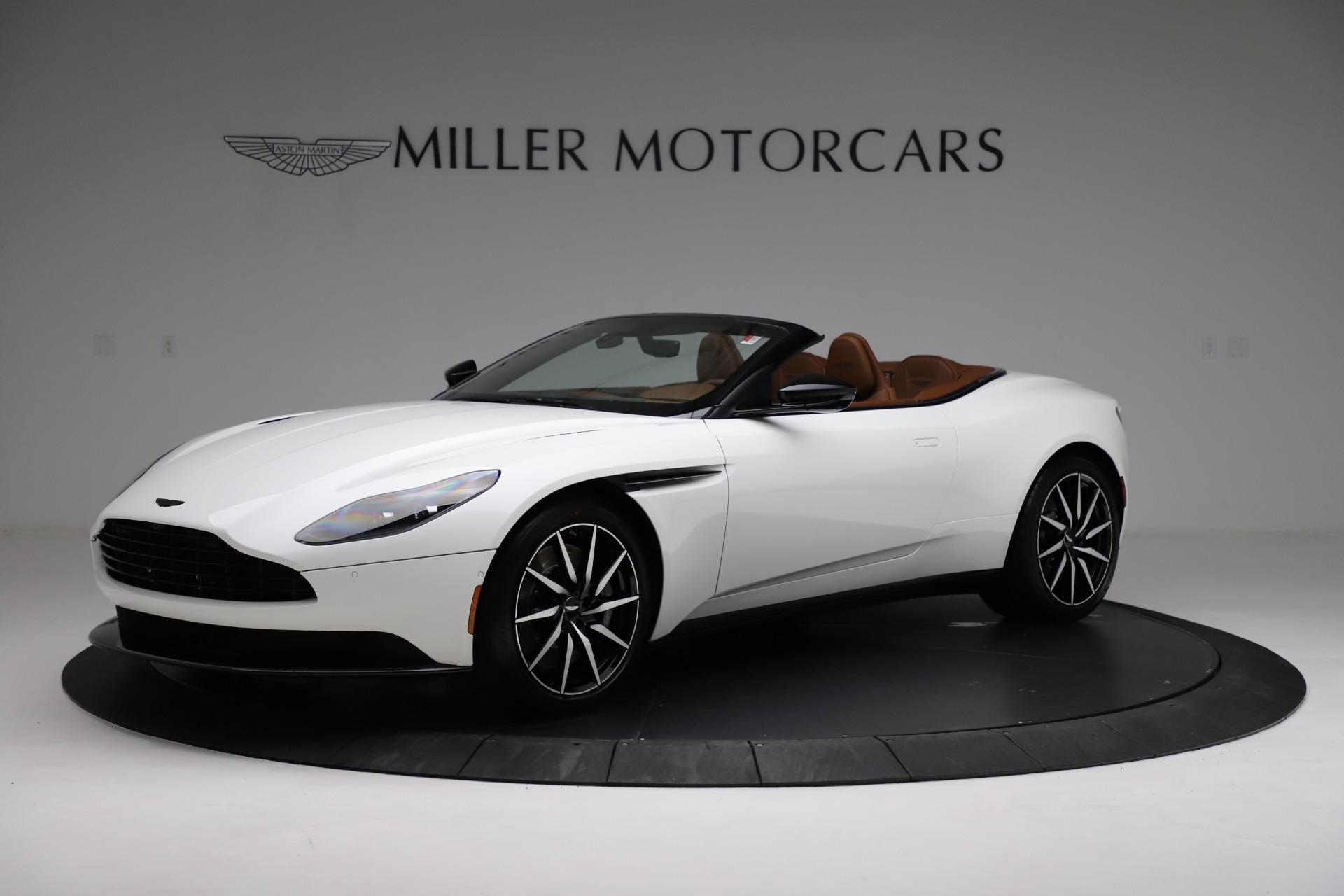 New 2021 Aston Martin DB11 Volante for sale $272,686 at Bugatti of Greenwich in Greenwich CT 06830 1