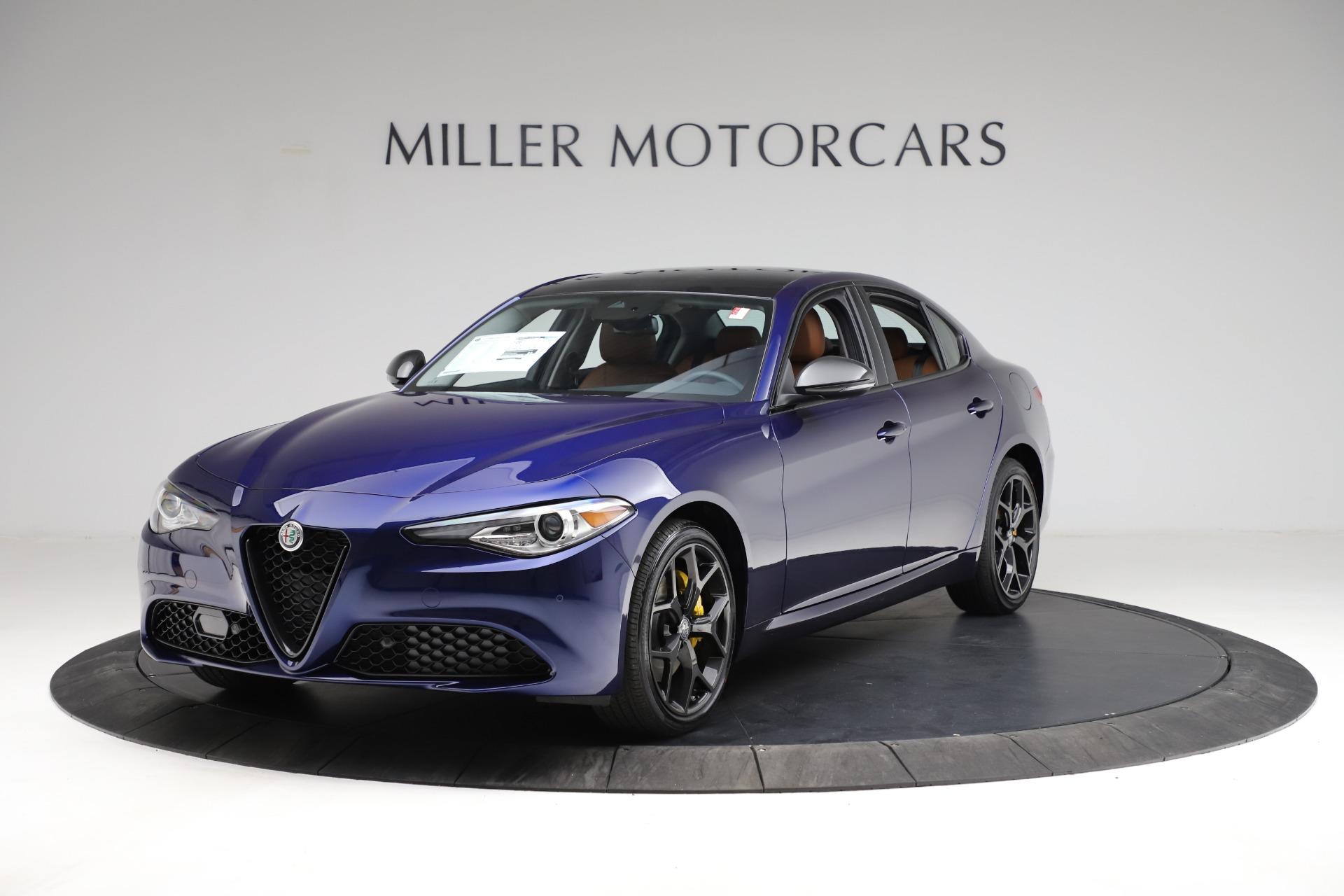 New 2021 Alfa Romeo Giulia Ti Q4 for sale $51,350 at Bugatti of Greenwich in Greenwich CT 06830 1