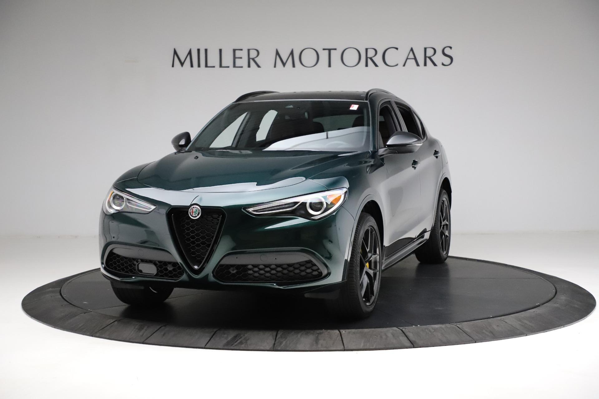 New 2021 Alfa Romeo Stelvio Ti Sport Q4 for sale $56,400 at Bugatti of Greenwich in Greenwich CT 06830 1