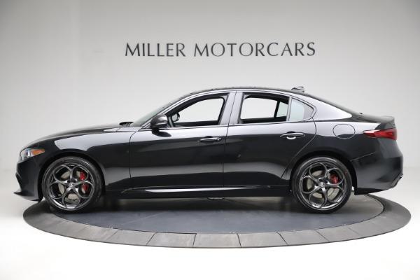 New 2021 Alfa Romeo Giulia Ti Sport Q4 for sale $53,850 at Bugatti of Greenwich in Greenwich CT 06830 3