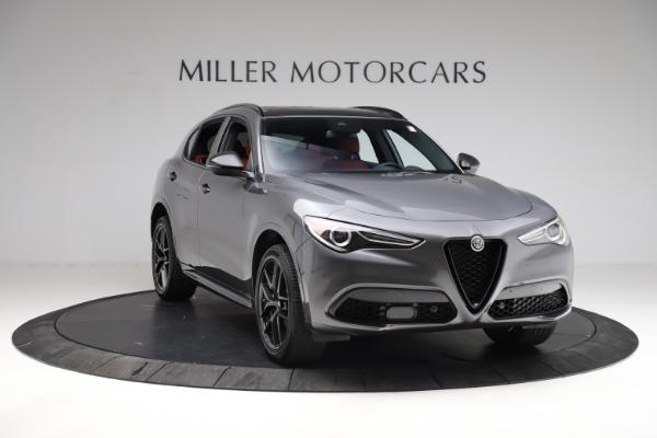 New 2021 Alfa Romeo Stelvio Ti Sport Q4 for sale $56,150 at Bugatti of Greenwich in Greenwich CT 06830 12