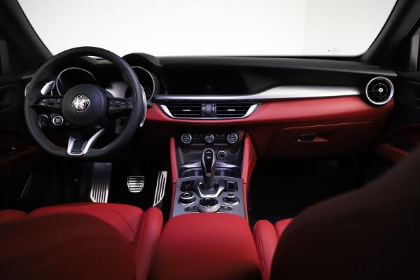 New 2021 Alfa Romeo Stelvio Ti Sport Q4 for sale $56,150 at Bugatti of Greenwich in Greenwich CT 06830 16