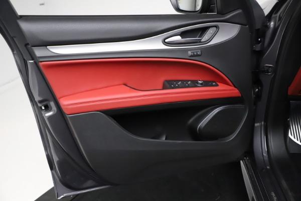 New 2021 Alfa Romeo Stelvio Ti Sport Q4 for sale $56,150 at Bugatti of Greenwich in Greenwich CT 06830 17