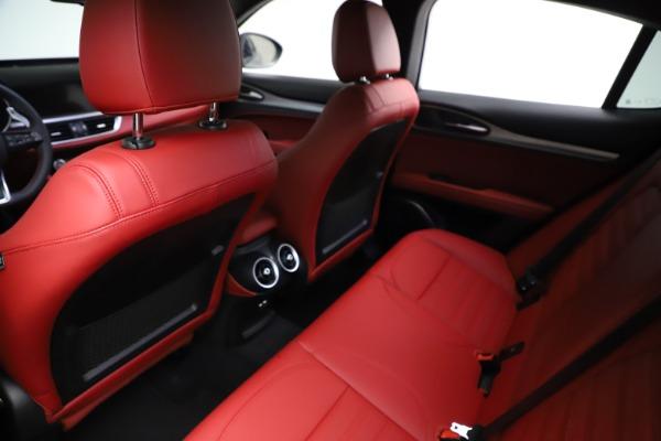 New 2021 Alfa Romeo Stelvio Ti Sport Q4 for sale $56,150 at Bugatti of Greenwich in Greenwich CT 06830 18
