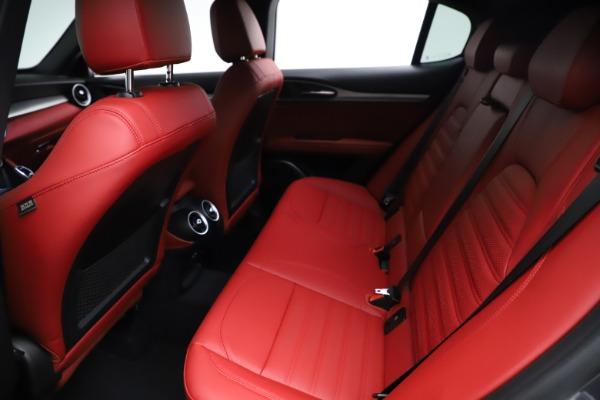 New 2021 Alfa Romeo Stelvio Ti Sport Q4 for sale $56,150 at Bugatti of Greenwich in Greenwich CT 06830 19