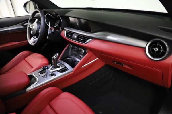 New 2021 Alfa Romeo Stelvio Ti Sport Q4 for sale $56,150 at Bugatti of Greenwich in Greenwich CT 06830 22