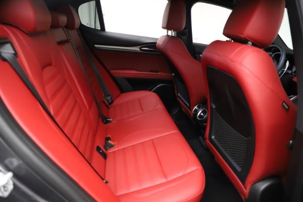 New 2021 Alfa Romeo Stelvio Ti Sport Q4 for sale $56,150 at Bugatti of Greenwich in Greenwich CT 06830 26