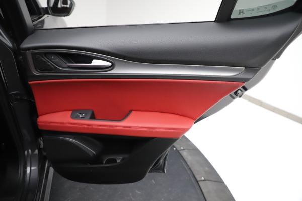 New 2021 Alfa Romeo Stelvio Ti Sport Q4 for sale $56,150 at Bugatti of Greenwich in Greenwich CT 06830 27