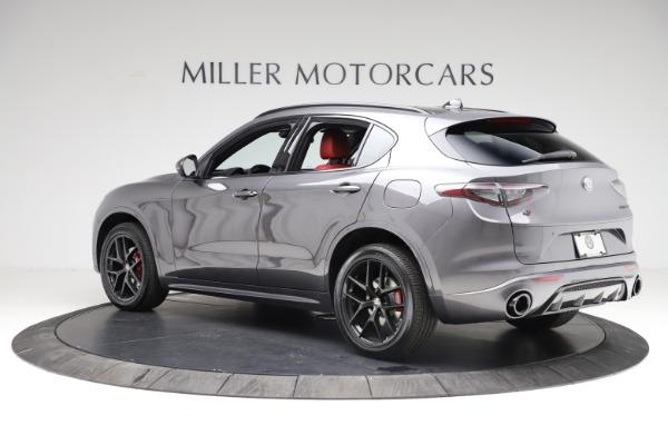 New 2021 Alfa Romeo Stelvio Ti Sport Q4 for sale $56,150 at Bugatti of Greenwich in Greenwich CT 06830 4
