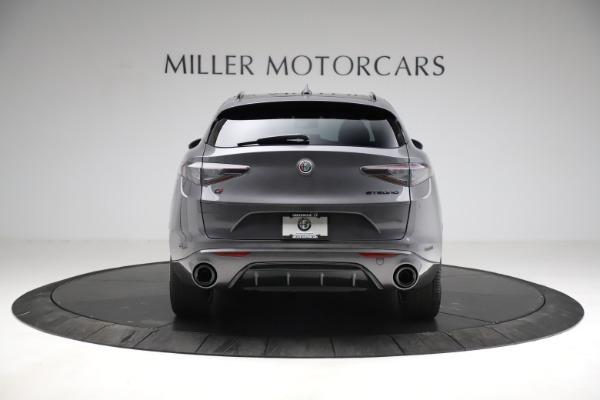 New 2021 Alfa Romeo Stelvio Ti Sport Q4 for sale $56,150 at Bugatti of Greenwich in Greenwich CT 06830 6