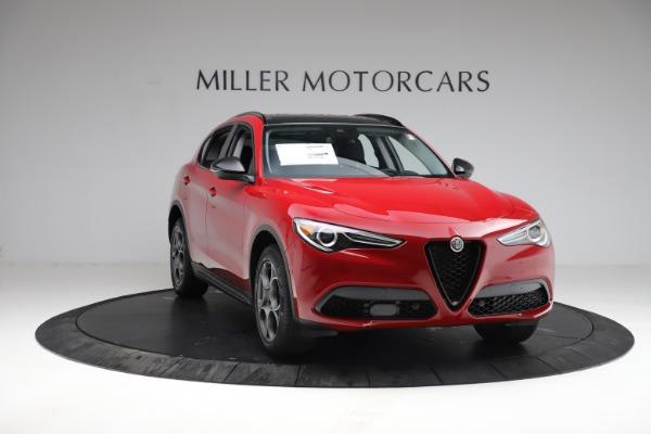 New 2021 Alfa Romeo Stelvio Q4 for sale $50,535 at Bugatti of Greenwich in Greenwich CT 06830 12