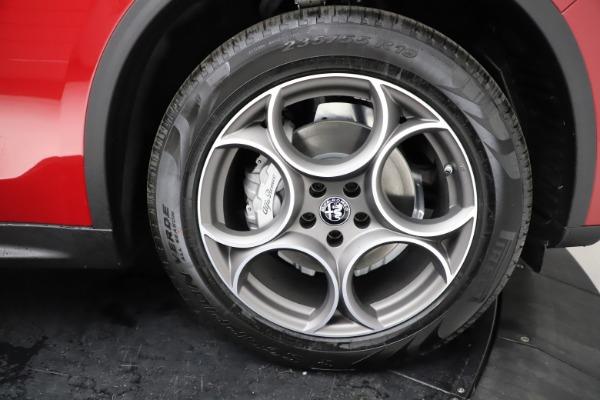 New 2021 Alfa Romeo Stelvio Q4 for sale $50,535 at Bugatti of Greenwich in Greenwich CT 06830 28