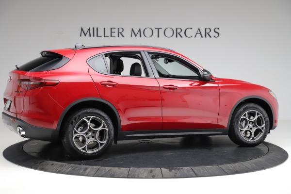 New 2021 Alfa Romeo Stelvio Q4 for sale $50,535 at Bugatti of Greenwich in Greenwich CT 06830 9