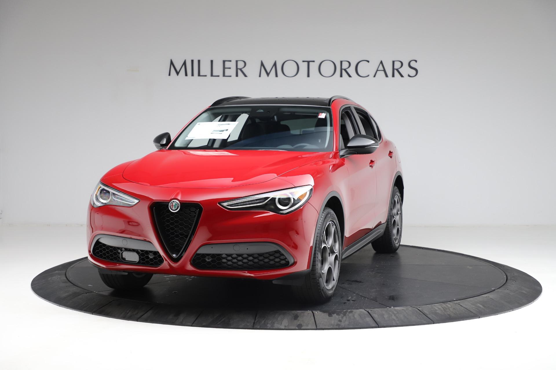 New 2021 Alfa Romeo Stelvio Q4 for sale $50,535 at Bugatti of Greenwich in Greenwich CT 06830 1