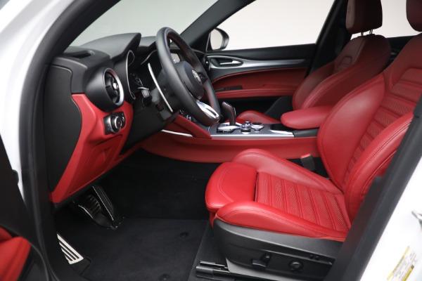 New 2021 Alfa Romeo Stelvio Ti Sport Q4 for sale $56,240 at Bugatti of Greenwich in Greenwich CT 06830 14