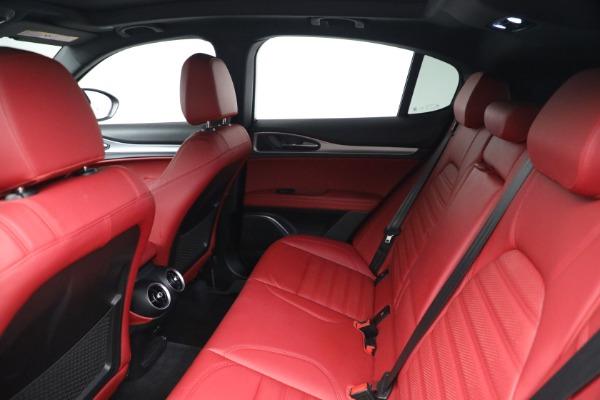 New 2021 Alfa Romeo Stelvio Ti Sport Q4 for sale $56,240 at Bugatti of Greenwich in Greenwich CT 06830 19